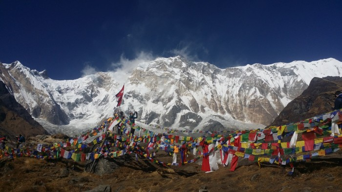 Annapurna Base Camp Trek in Himalaya